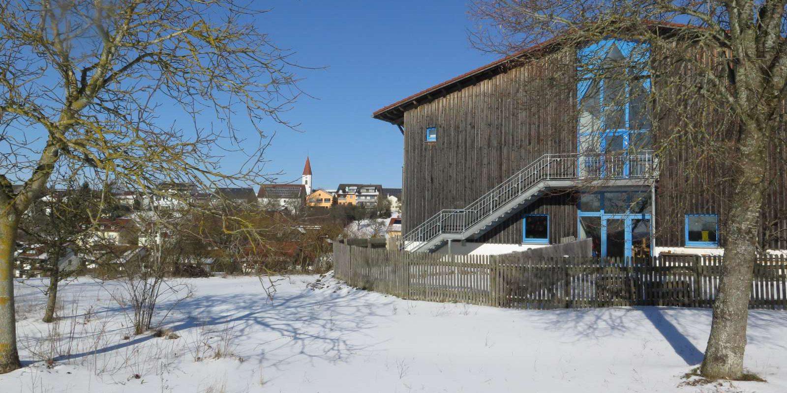 Winter in Schernfeld